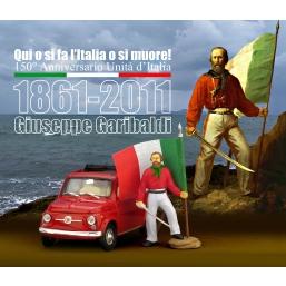 AS150 FIAT 500 150° UNITA' D'ITALIA GARIBALDI