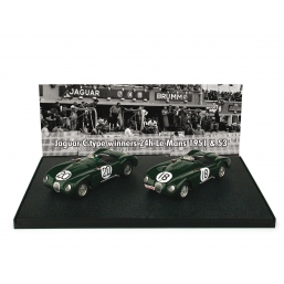 AS30 JAGUAR C LE MANS WINNERS 1951-1953