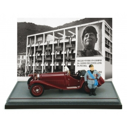 AS37 ALFA ROMEO 1750GS MUSSOLINI COMO 1930