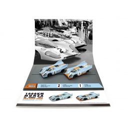 AS56 PORSCHE 917 1000KM MONZA 1971 GULF SET