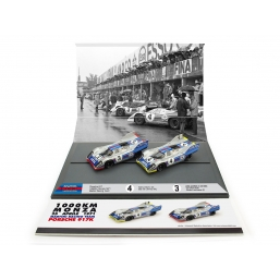 AS57 PORSCHE 917 1000KM MONZA '71 MARTINI SET
