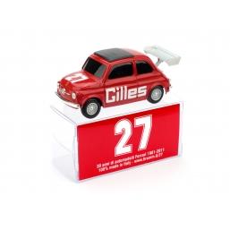 BR011 FIAT 500 BRUMS GILLES NR.27
