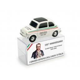 BR017 FIAT 500 BRUMS CAMILLO B.CONTE DI CAVOUR