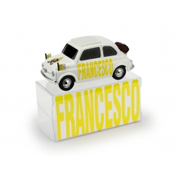 BR028B FIAT 500 BRUMS HABEMUS PAPAM FRANCESCO