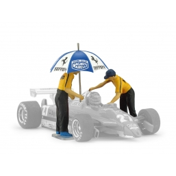 F098 SET UMBRELLA PIT STOP
