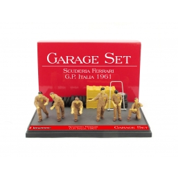 GS02 GARAGE SET SCUDERIA FERRARI GP ITALIA'61
