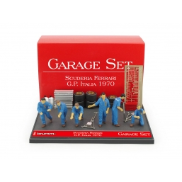 GS04 GARAGE SET SCUDERIA FERRARI 1970