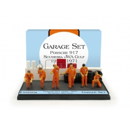 GS05 GARAGE SET SCUDERIA JWA-GULF 1970/1971