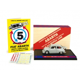 K001 FIAT ABARTH 850TC/1000 MONZA 1966