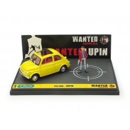 L01 FIAT 500F LUPIN III - WANTED LUPIN
