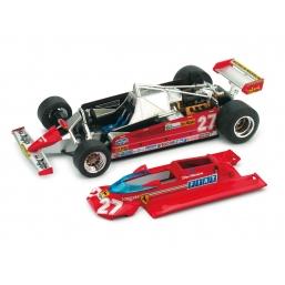 P002 FERRARI 126CK 1981 GP MONACO VILLENEUVE