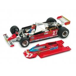 P004 FERRARI 126CK 1981 GP MONACO VILLENEUVE