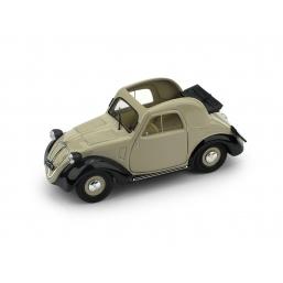 R021-02 FIAT 500A 1a SERIE 1936 AP. BEIGE-NERA