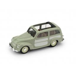 R028-01 FIAT 500C BELVEDERE 1951 VERDE APERTA