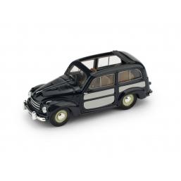 R028-02 FIAT 500C BELVEDERE 1951 BLU APERTA