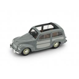 R028-03 FIAT 500C BELVEDERE 1951 GRIGIO APERTA