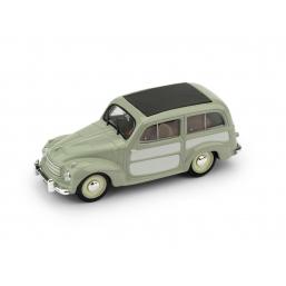 R029-01 FIAT 500C BELVEDERE 1951 VERDE CHIUSA