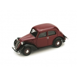 R031-01 FIAT 1100 (508C) 1937 AMARANTO/NERO