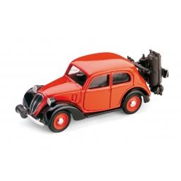R033B FIAT 1100 GASOGENO ROSSO/NERO 1937