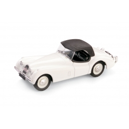 R102-01 JAGUAR XK120 DROP HEAD 1948 BIANCO
