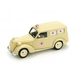 R179 FIAT 1100 AUTOAMBULANZA CROCE ROSSA 1947