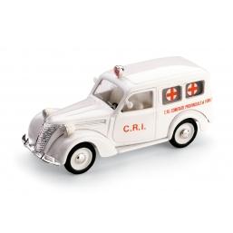 R179B FIAT 1100 AUTOMABULANZA CROCE ROSSA 1947