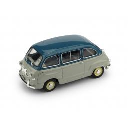 R250-15 FIAT 600 MULTIPLA 1a SERIE 1956 B-G