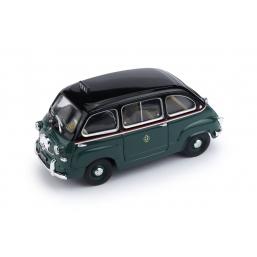 R251 FIAT 600 MULTIPLA TAXI DI MILANO 1955