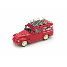 R266 FIAT 500C FURGONE MARMITTE ABARTH 1956