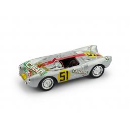 R274 PORSCHE 550RS 1954 CARRERA MEXICO #51