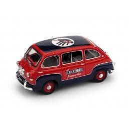 R286 FIAT 600 MULTIPLA 1960 RAMAZZOTTI