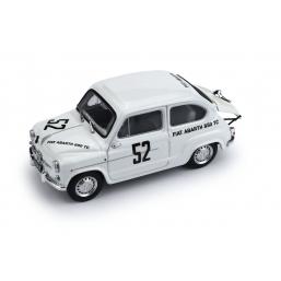 R305 FIAT ABARTH 850 TC 500Km NURBURGRING '61