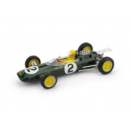 R331B-CH LOTUS 25 GP BELGIO 1963 T.TREVOR +PILOTA