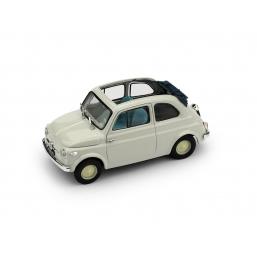 R340-01 FIAT NUOVA 500 ECONOM.AP. 1957 GRIGIO C.
