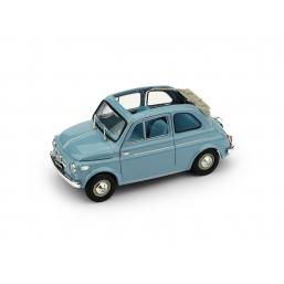 R342-04 FIAT NUOVA 500 NORM. AP. 1957 CELESTE C.