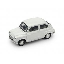 R349-01 FIAT 600D 1965 BIANCO