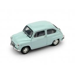 R349-03 FIAT 600D 1965 AZZURRO ACQUAMARINA