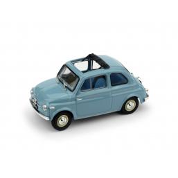 R364-04 FIAT NUOVA 500 TETTO APRI.'59 CELESTE AP