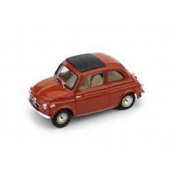 R365-01 FIAT NUOVA 500 TETTO APRI.'59 ROSSO CH.