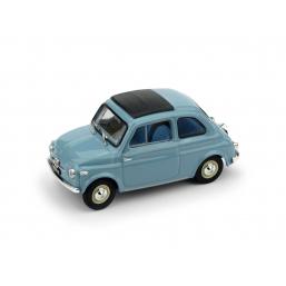 R365-04 FIAT NUOVA 500 TETTO APRI.'59 CELESTE CH