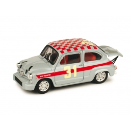 R369C FIAT 600 ABARTH 1000 BERLINA MONZA '66