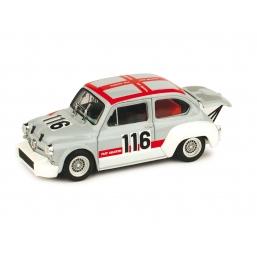 R372 FIAT ABARTH 1000 SVOLTE DI POPOLI 1970