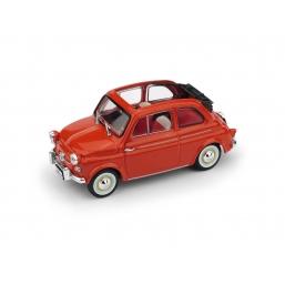 R376-02 FIAT NUOVA 500 AMERICA AP. 1958 ROSSO