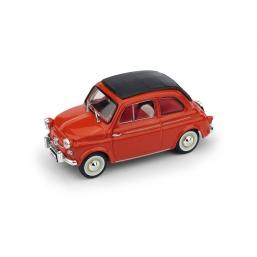 R377-02 FIAT NUOVA 500 AMERICA CH. 1958 ROSSO