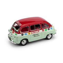 R399 FIAT 600 MULTIPLA 1956 MACCHINE SINGER