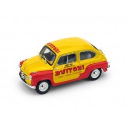 R400 FIAT 600 1a SERIE 1955 PASTA BUITONI