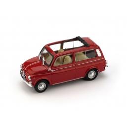 R424-02 FIAT 500 GIARDINIERA 1960 APERTA ROSSO
