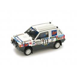 R442 FIAT PANDA 4X4 PARIGI-DAKAR 1984 #213