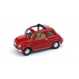R454-01 FIAT 500F 1965-1971 APERTA ROSSO MEDIO