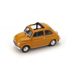 R454-13 FIAT 500F 1971-72 APERTA GIALLO POSITANO